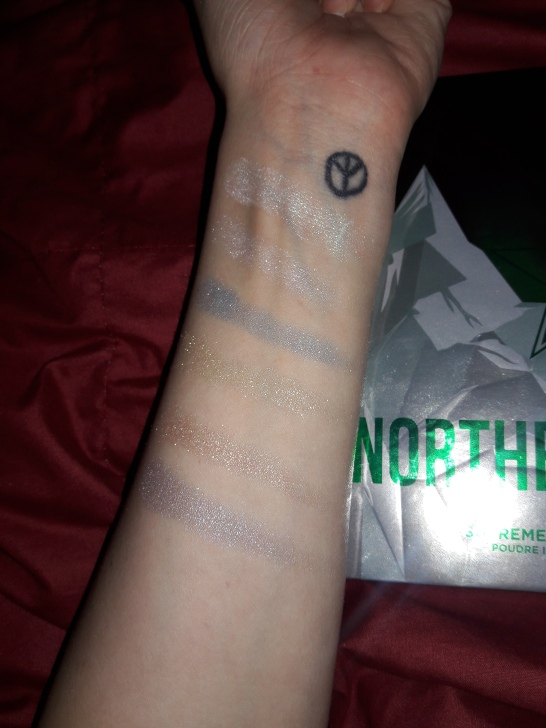 Swatches with the flash
